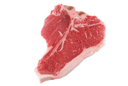 rohes porterhouse steak