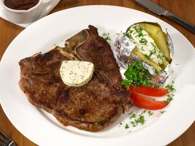 T-Bone Steak Rezept mit Bild